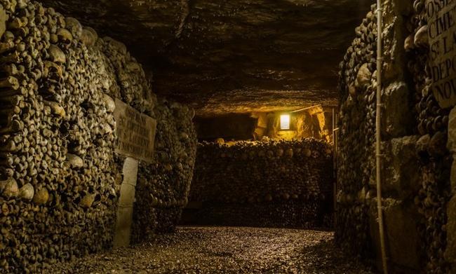 3. Catacombs of Paris