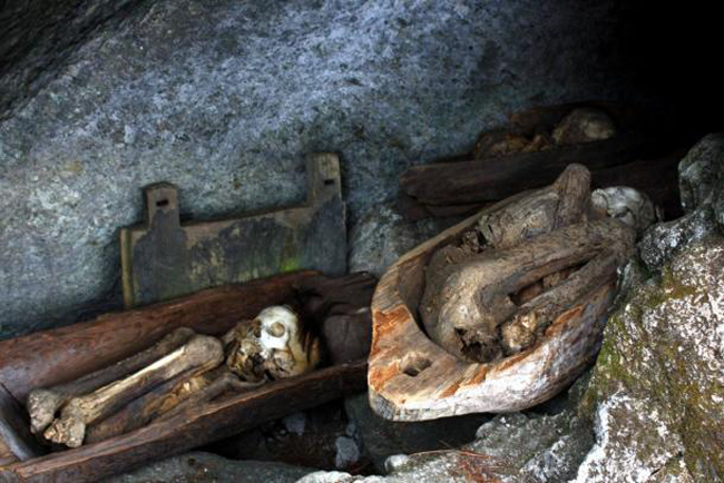 6. Fire Mummies of the Philippines [Kabayan Mummy Caves]