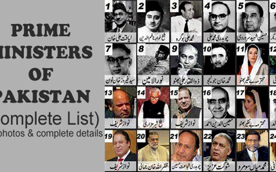 Prime Ministers of Pakistan (Complete List)