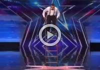 Stunning Performance with Ladder (Video)