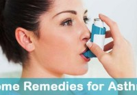 Home Made Remedies for Asthma