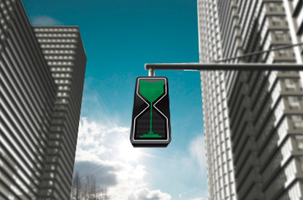 12. Know how much time you have at a traffic light