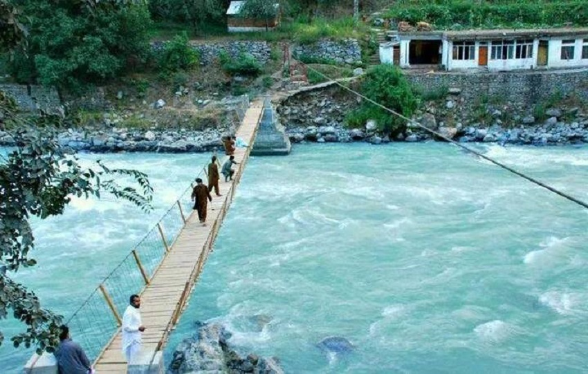 4. Bridge at Sawat River - Pushmal Valley Swat