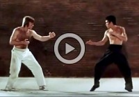 Legendary Fight Scene (Chuck Norris vs Bruce Lee) Way of the Dragon