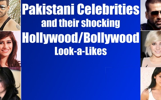Pakistani Celebrities & Their Shocking Hollywood/Bollywood Look-A-Likes