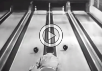 Impressive Bowling Trick Shots by Andy Vera-Papa (Video)