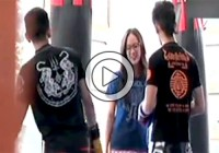 Professional Boxing Champion Girl Fools and Beat Her Training Instructor (Express News) Video