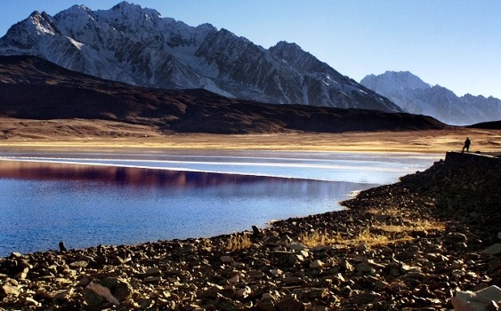 Shandur Lake of Gilgit, Baltistan, Pakistan
