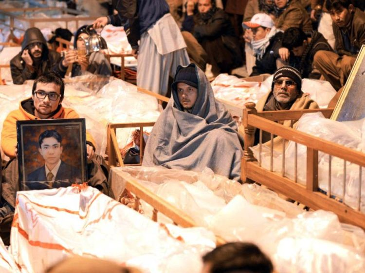 047Hazaras refuse to bury their loved ones_InfoMazza