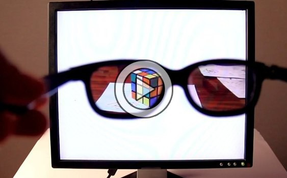 how to build polarizing filter for lcd display
