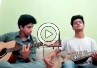 National Anthem of Pakistan on Guitar and Rubab (Video)
