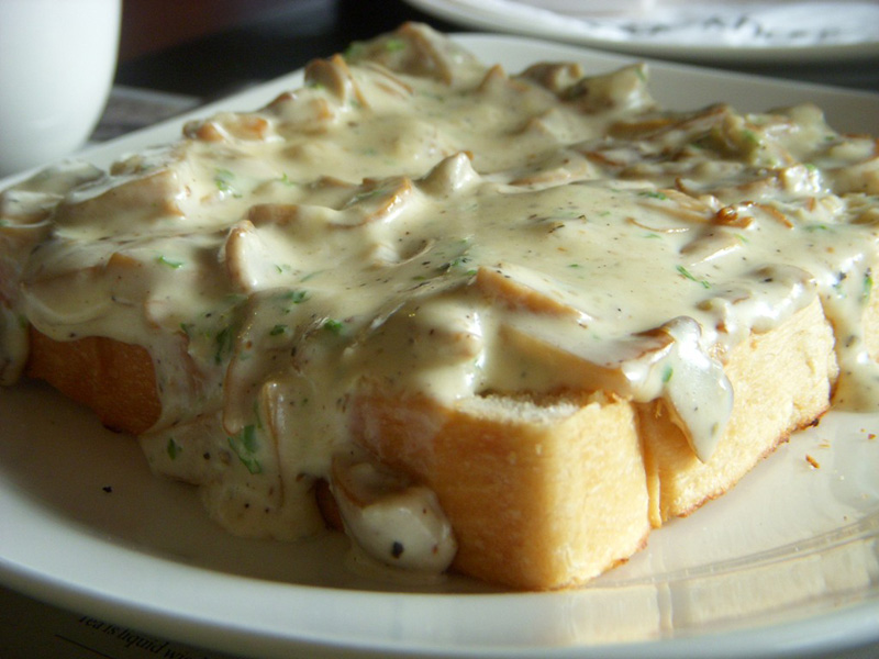 Garlic Mushroom Toast