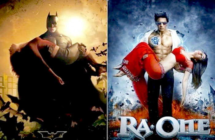 List of Bollywood Movies That Are Copied From Hollywood Movies RA ONE