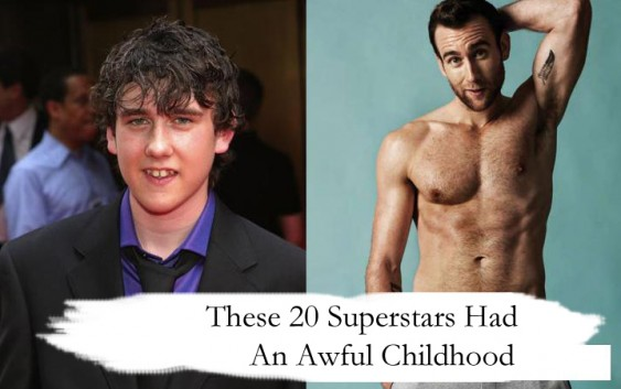These 20 Superstars Had An Awful Childhood