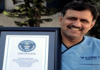 Pakistani Surgeon Broke US Doctor's Guinness World Record