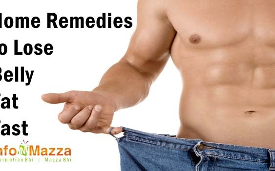 Home Remedies to Lose Belly Fat Fast