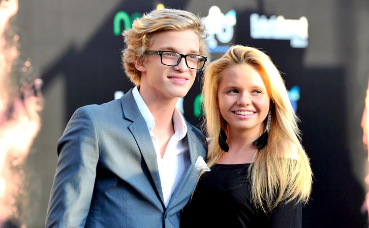 7.Cody and Alli Simpson