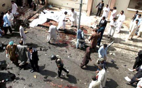 Quetta Civil Hospital Attack Killed Dozens in Bomb Blast