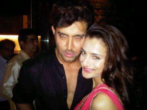 Hrithik Roshan and Amisha Patel