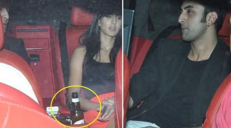 Katrina Kaif Drinking