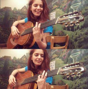 Momina Mustehsan love to play the violin, keyboard and a guitar.