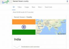 Which Country is 'Namak Haram', Google Finally Ask Hilarious Answer