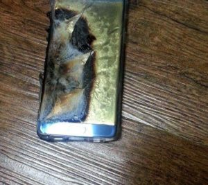 Samsung Facing Battery Issues in Galaxy Note 7