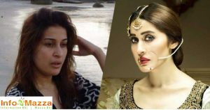 Shaista With & Without Makeup