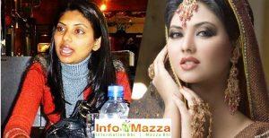 Sunita With & Without Makeup