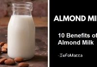 Here are the Ten Best Benefits of Almond Milk