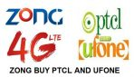Zong Has Shown Interest in Buying PTCL and Ufone