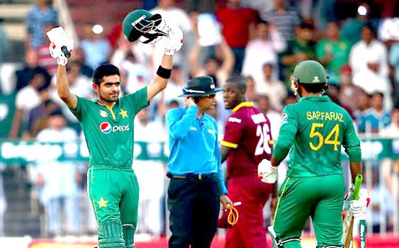 Babar Azam Make Three Consecutive Century in PAK vs WI
