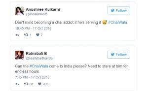 Girl tweets about Chai wala