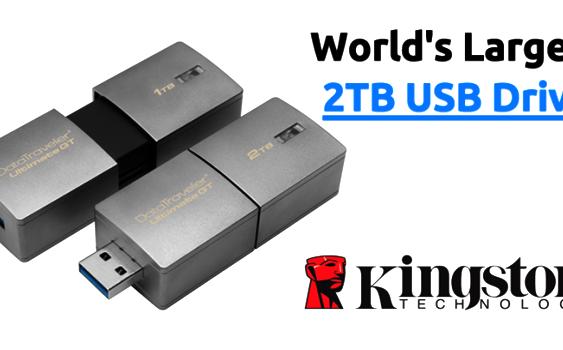 Kingston Introduces 2TB USB Flash Drive