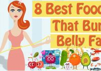 8 foods reduce belly fats