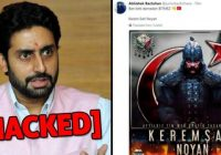 Abhishek Bachchan's Twitter Account Hacked By Pro-Pakistani Hackers