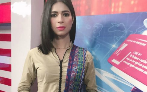 Pakistani news channel hires country's first transgender anchor